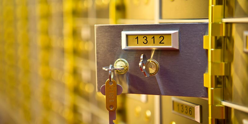 Safety Deposit Boxes Derby